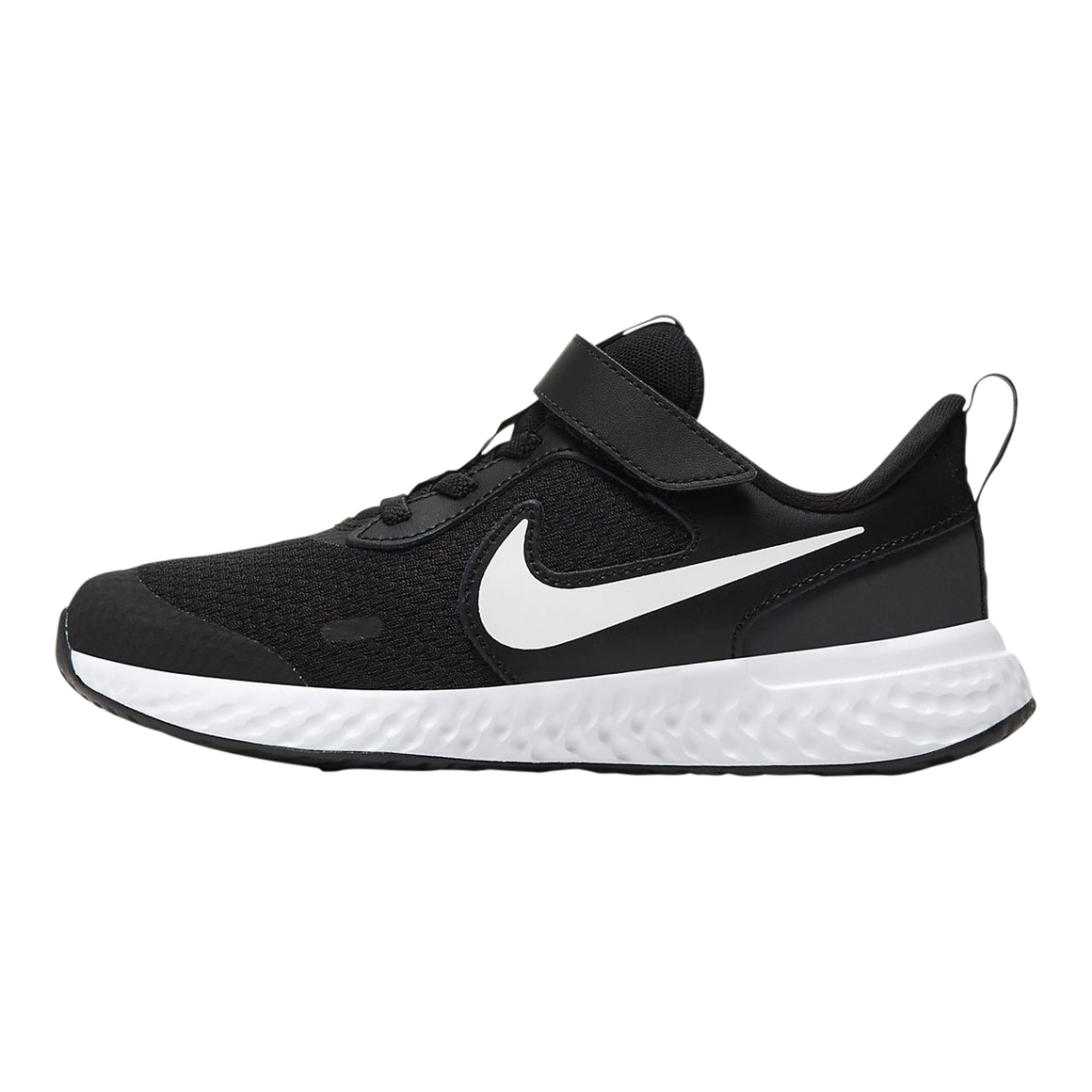 Revolution 5 Running Shoes for Younger Kids in Black/White-Anthracite