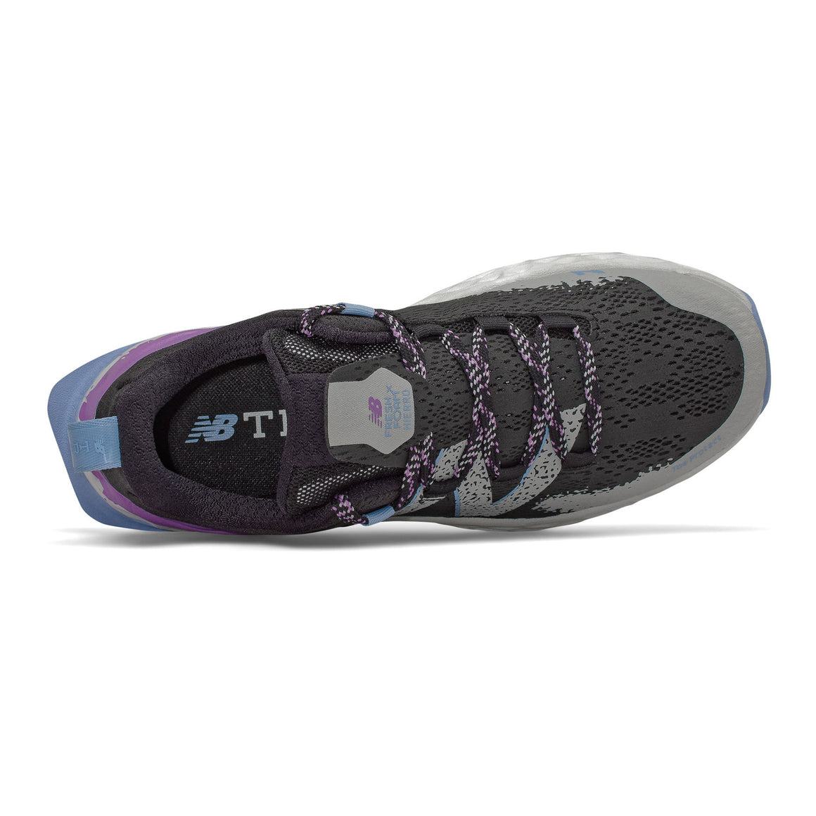 Hierro Trail Running Shoes for Women in Black