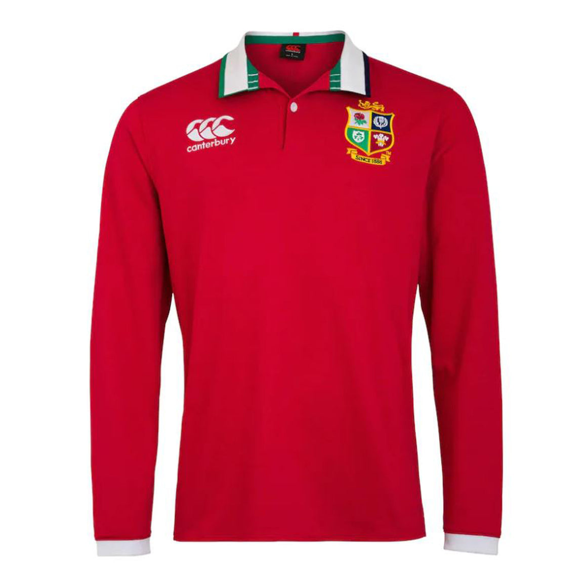 British and Irish Lions LS Classic Jersey for Men in Tango Red
