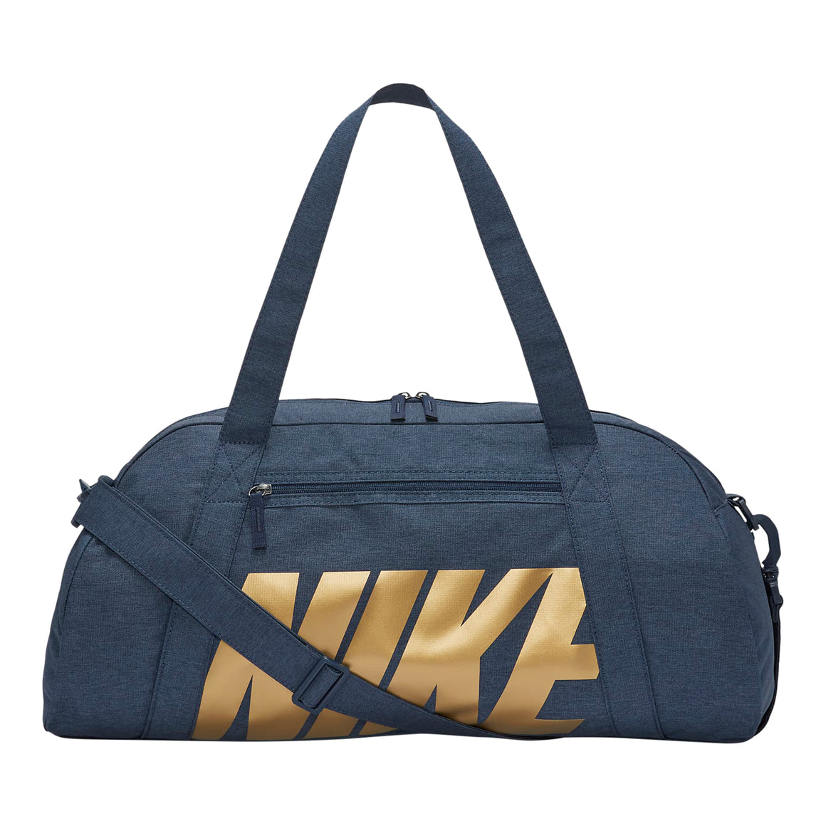 Gym Club Training Duffle for Women in Obsidian/Metallic Gold
