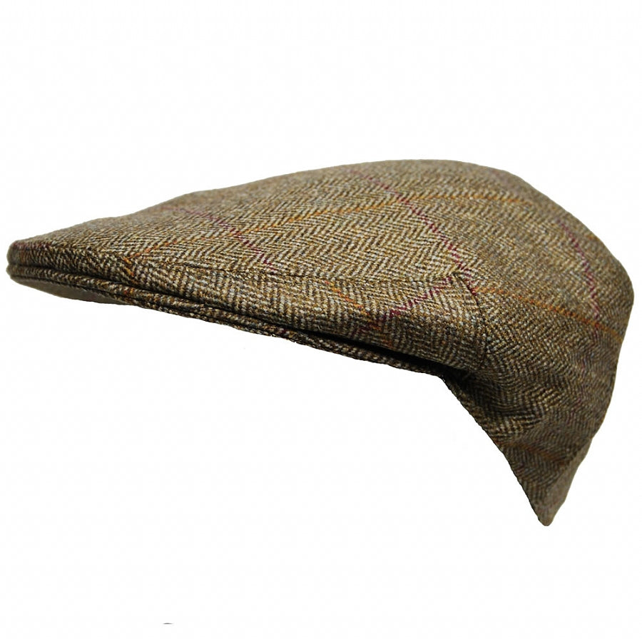 Kinloch Style Flat Cap for Men in Green