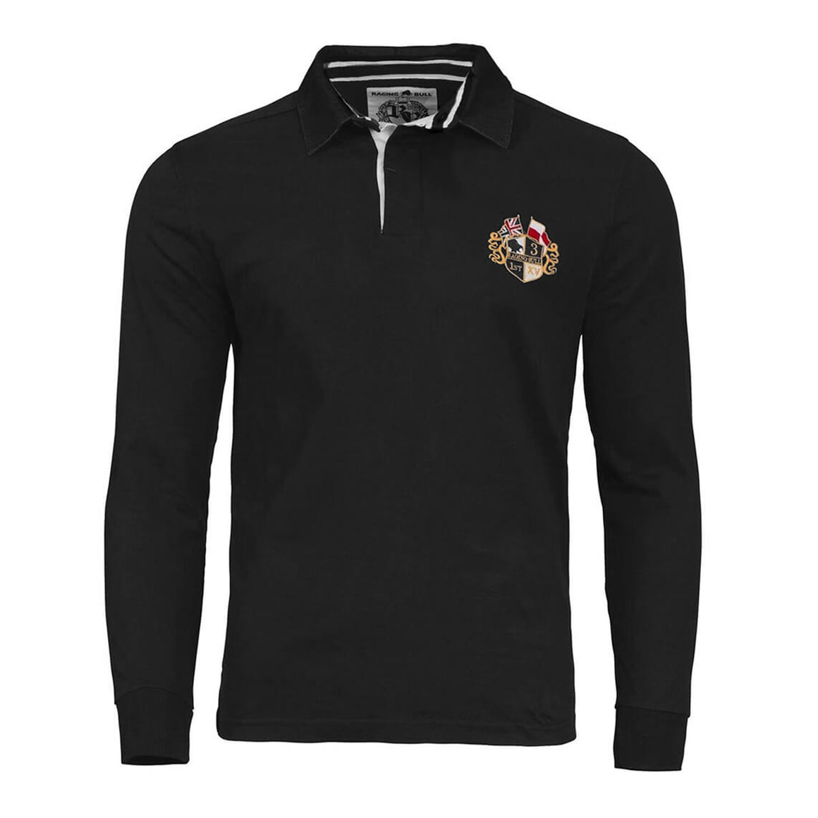Signature Rugby Shirt for Men in Black