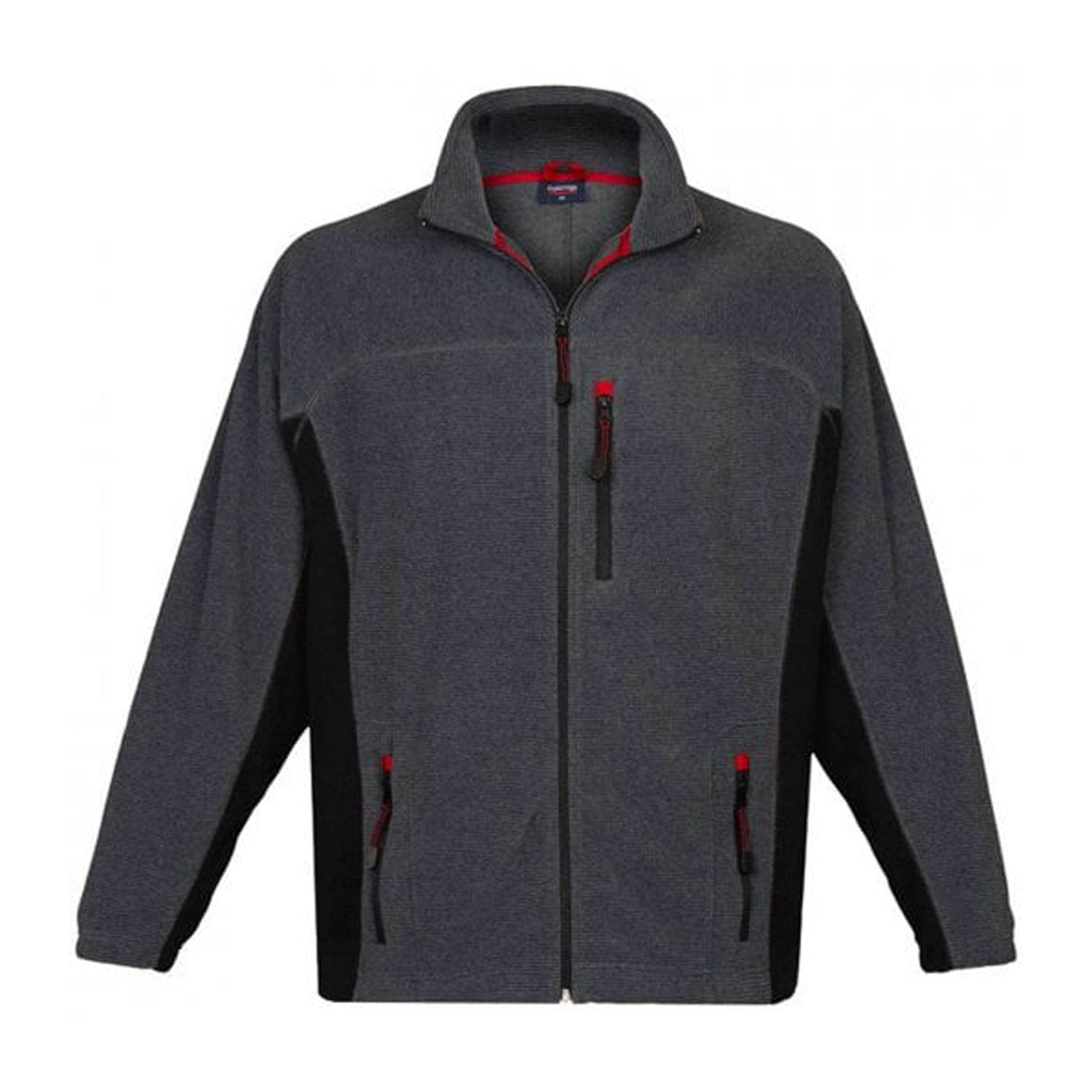 Fancy Fleece Jacket for Men in Charcoal
