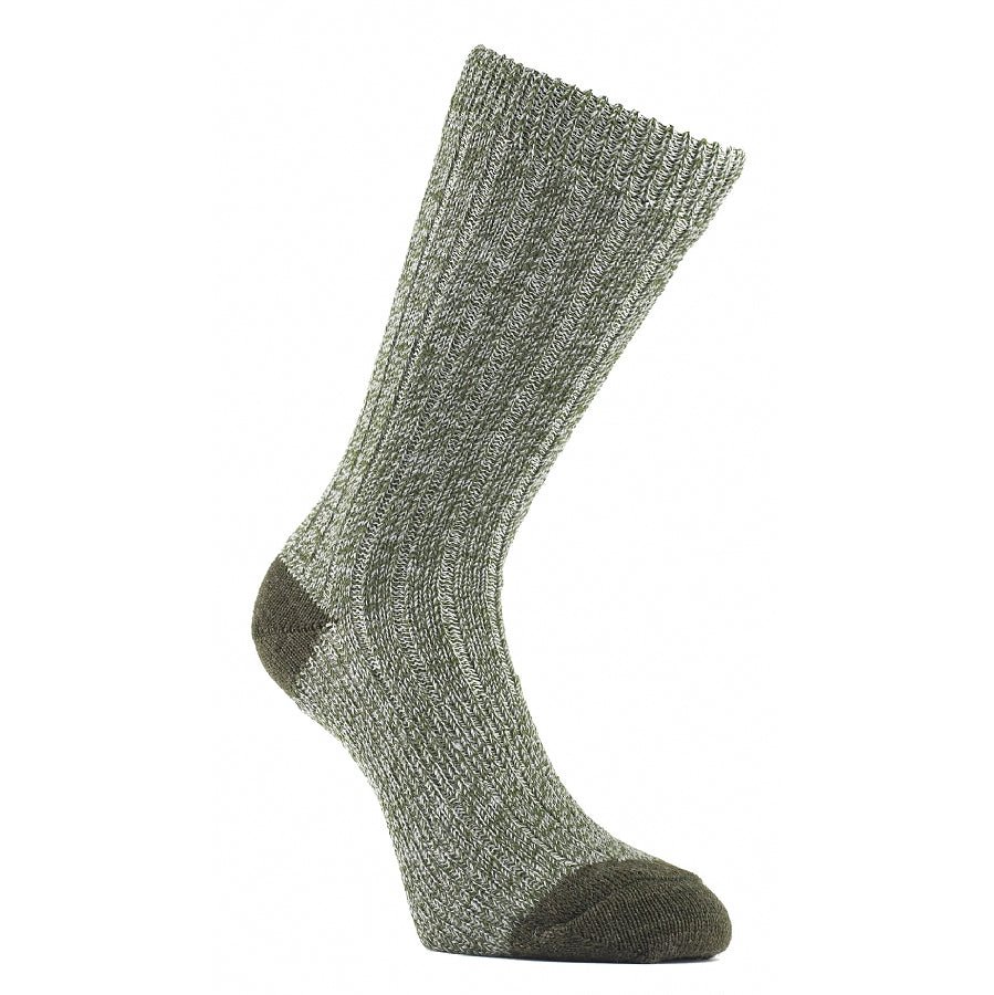Ultimate Heavyweight Walk Socks for Men in Green