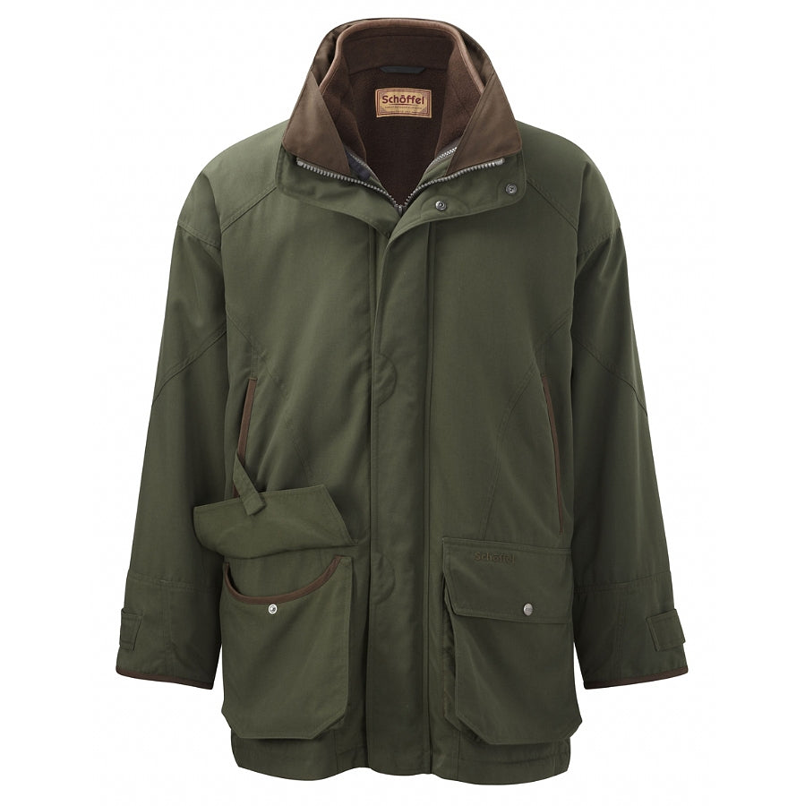 Mens Ptarmigan Interactive Coat in Hunter Green