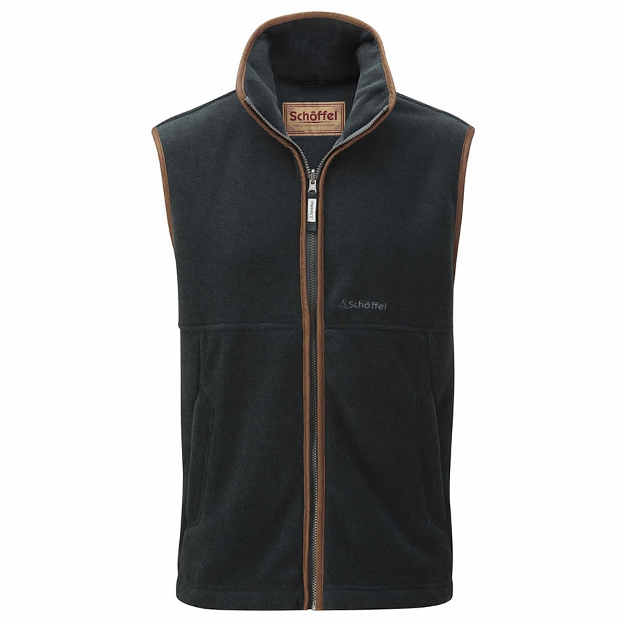 Oakham Fleece Gilet for Men in Kingfisher