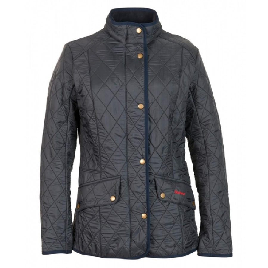 Womens Cavalry Polarquilt Jacket in Navy