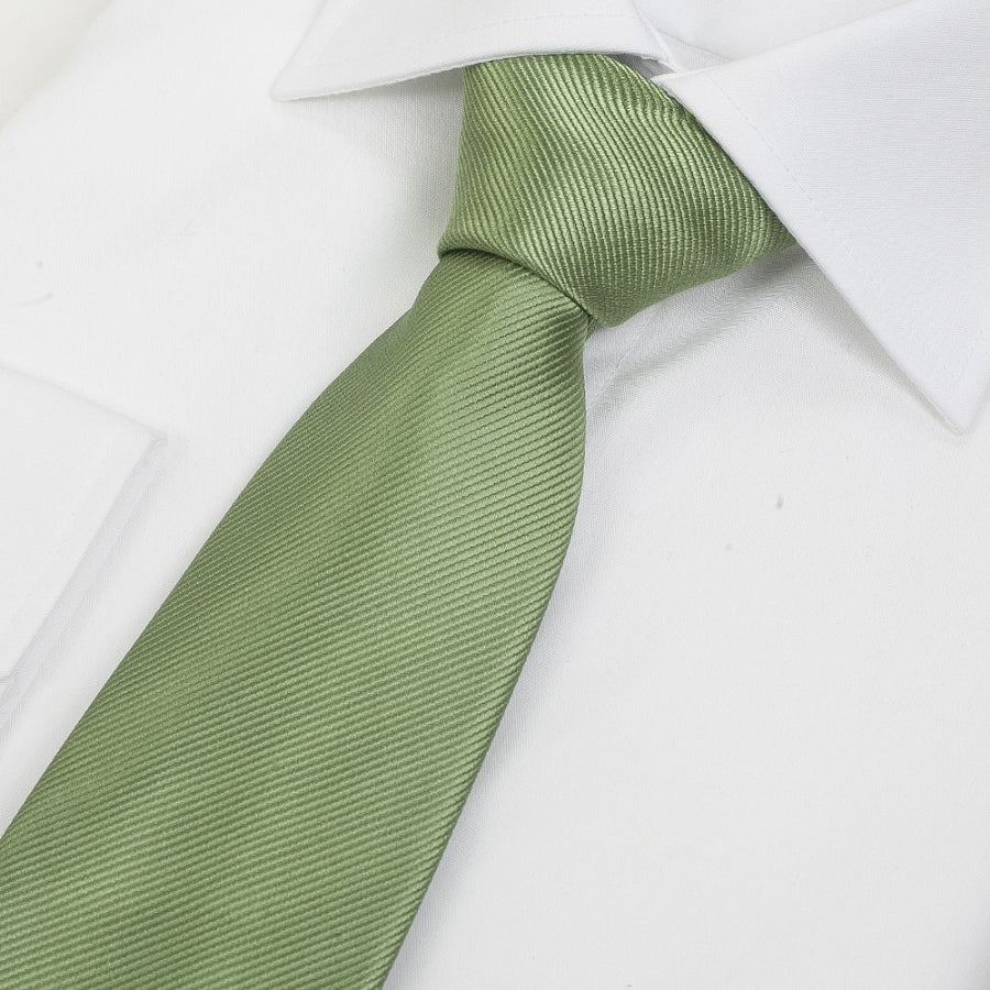 Silk Tie in Green