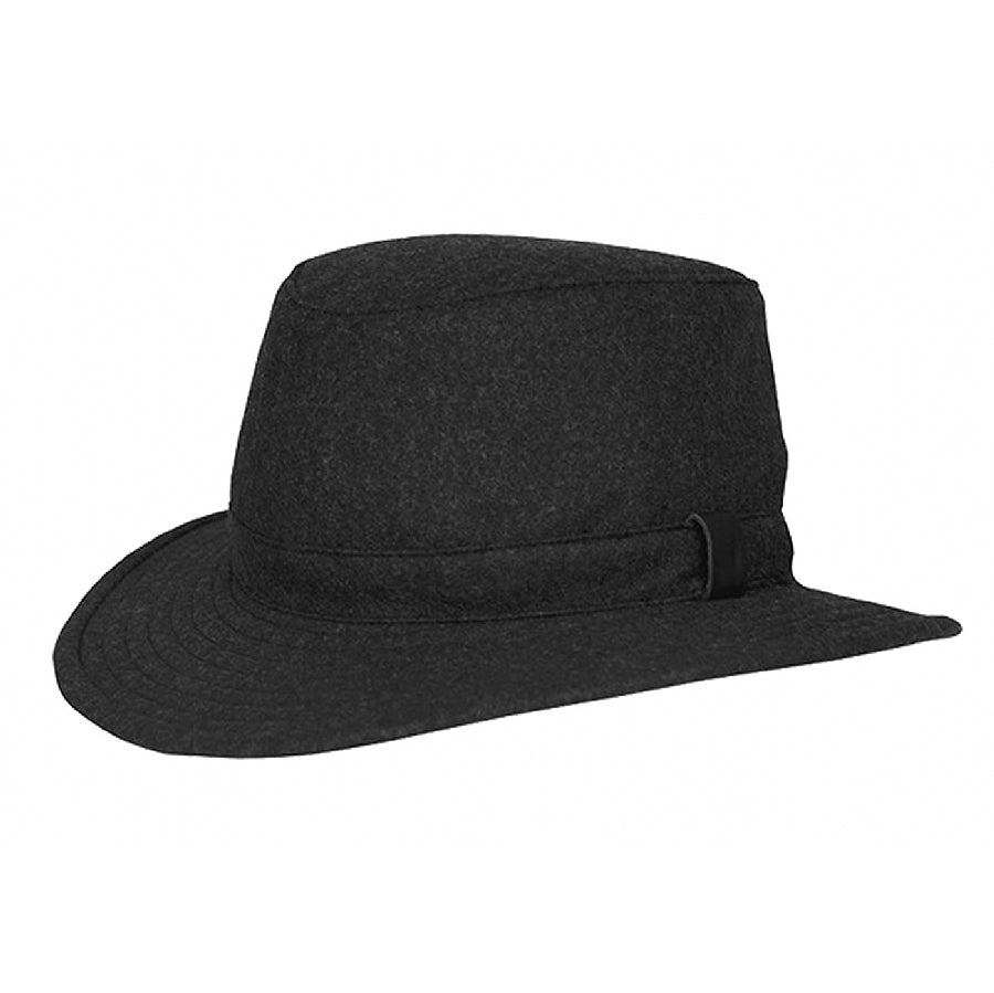 Unisex Tec-Wool Hat in Black Mix