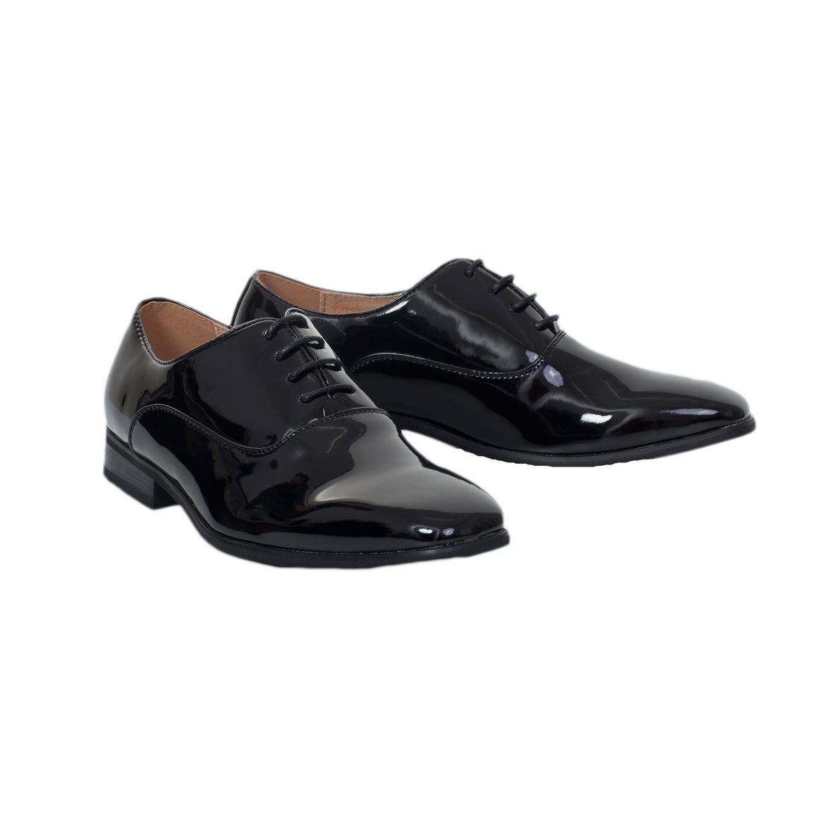 Patent Dress Shoes for Men in Black