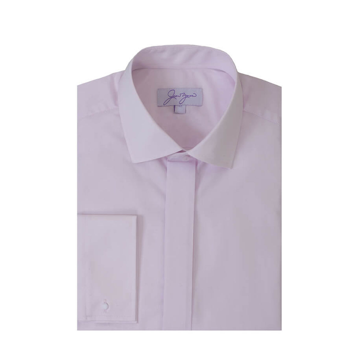Elite Slim Fit Semi-cut away for Men in Pink