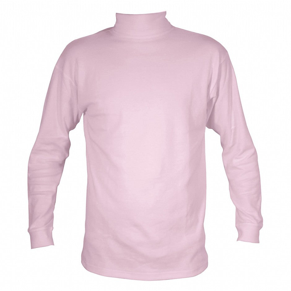 Cotton Rollcollar Top in Pink