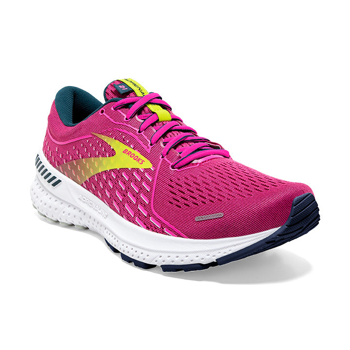 Adrenaline GTS 21 Running Shoes for Women in Raspberry/Pink/Sulphur