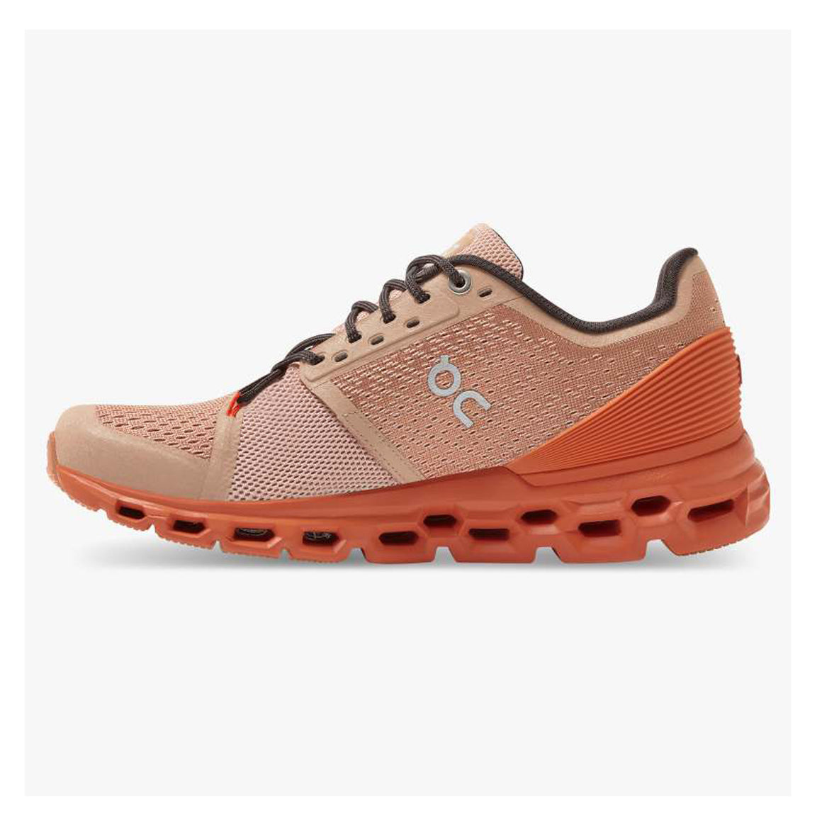 Cloudstratus Running Shoes for Women in Rose/Brown/Flare
