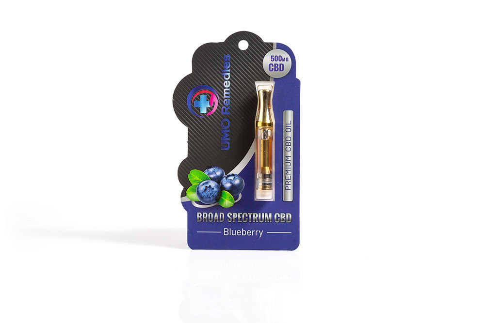 Broad Spectrum CBD Oil Blueberry