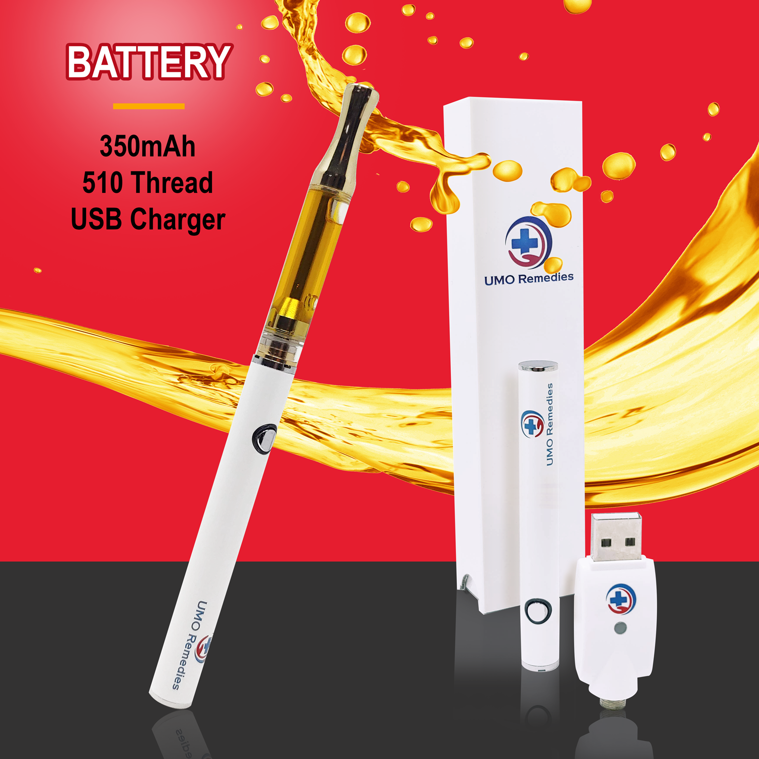 CBD Vape Pen Battery
