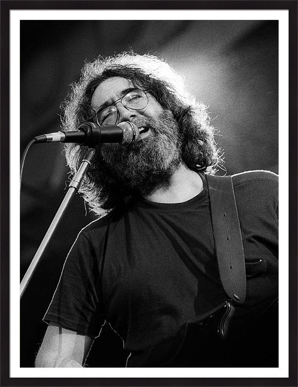 Jerry Garcia - Grateful Dead Live 1 Framed Print
