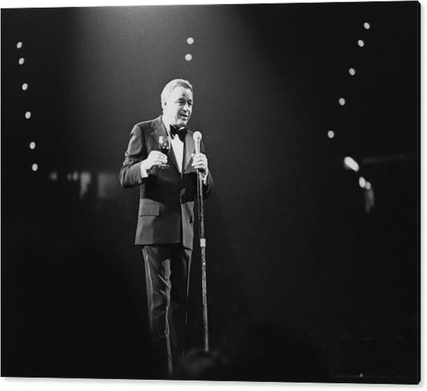 Sinatra On Stage Acrylic Print