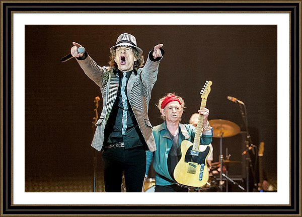 Sir Mick Jagger and Keith Richards 2012 in London, England.