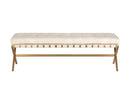 Hadon Bench - Bravo Cream
