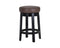 Bach Swivel Counter Stool - Havana Dark Brown set of 2