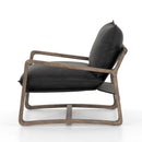 Anemone Chair Umber Black, Lamont Natural