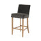 Angelina Counter stool Bella Smoke, Toasted Umber