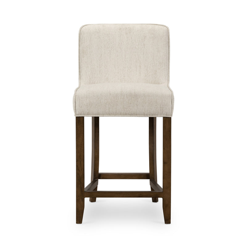 Angelina Counter stool Heather Twill Stone, Warm Nettlewood