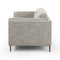 Yohann Sofa Thames Coal, Brushed Bronze