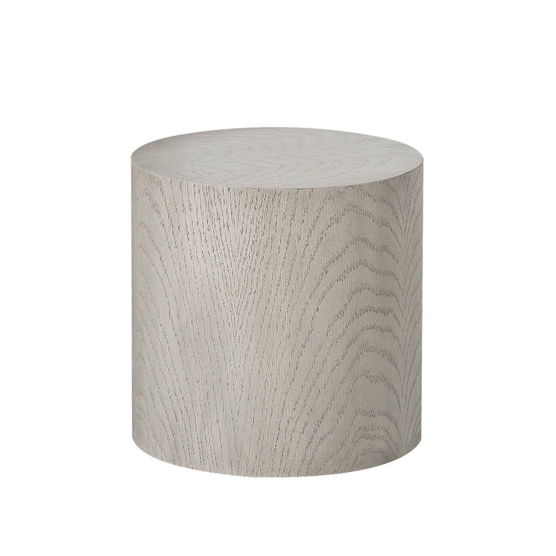 Arion Round Accent Table Oak