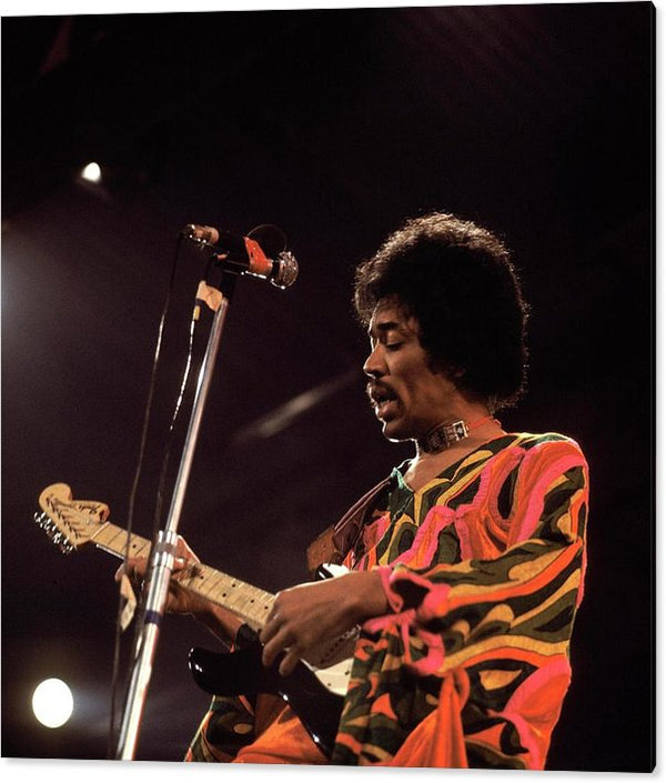 Photo Of Jimi Hendrix 3 Acrylic Print