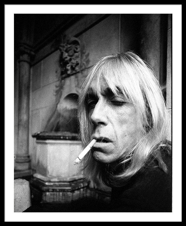 Iggy Pop, portrait at Chateau Marmont Hotel in Los Angeles