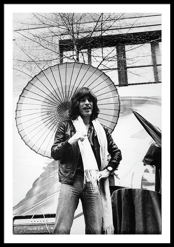 Mick Jagger of the rock band the Rolling Stones, New York