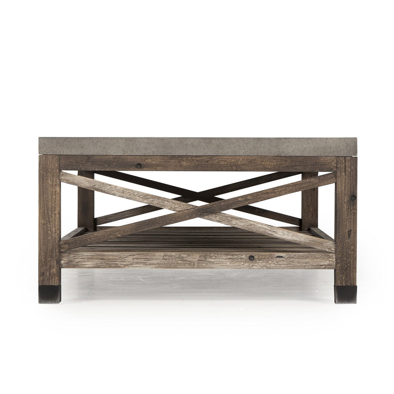 Lexi Coffee Table Weathered Wood