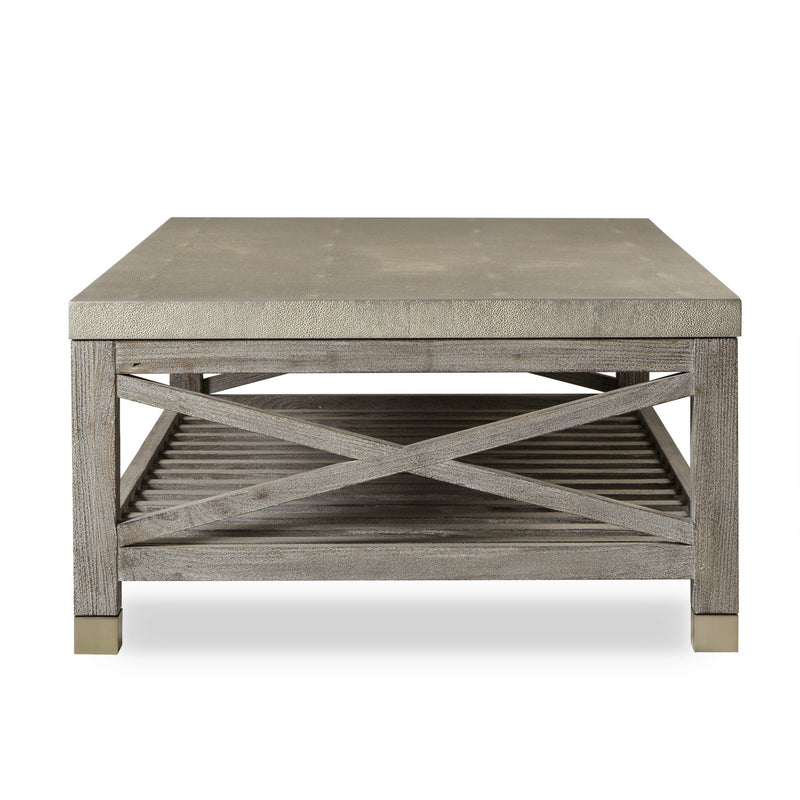Lexi Coffee Table White Washed