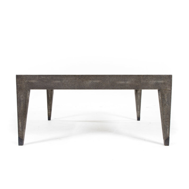 Baynes Cocktail Table Charcoal Shagreen