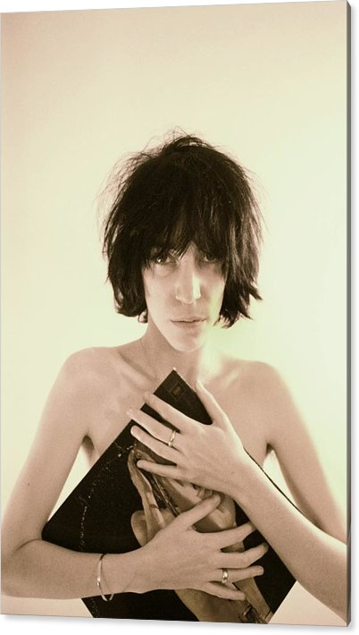 Patti Smith Portrait Session Acrylic Print