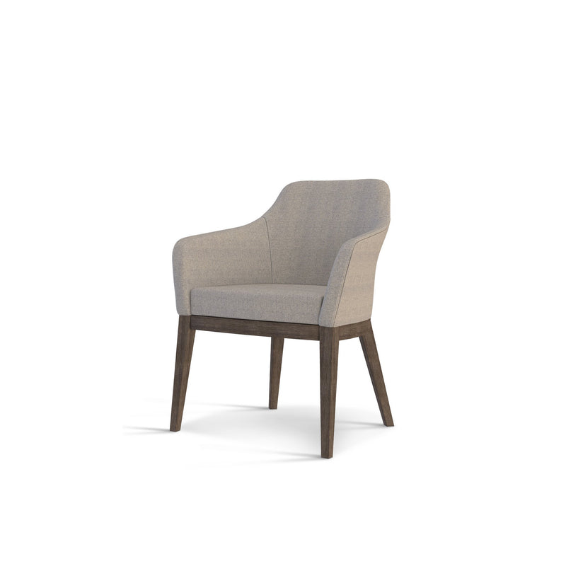 Michael Dining Arm Chair Marley Graphite