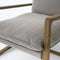 Anemone Chair Robson Pewter, Dark Oak