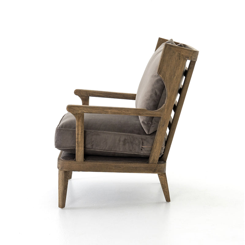 Rieger Chair Imperial Mist, Lamont Natural