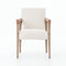 Rosa Dining Chair Chaps Saddle, Harbor Natural, Lamont Nettlewood