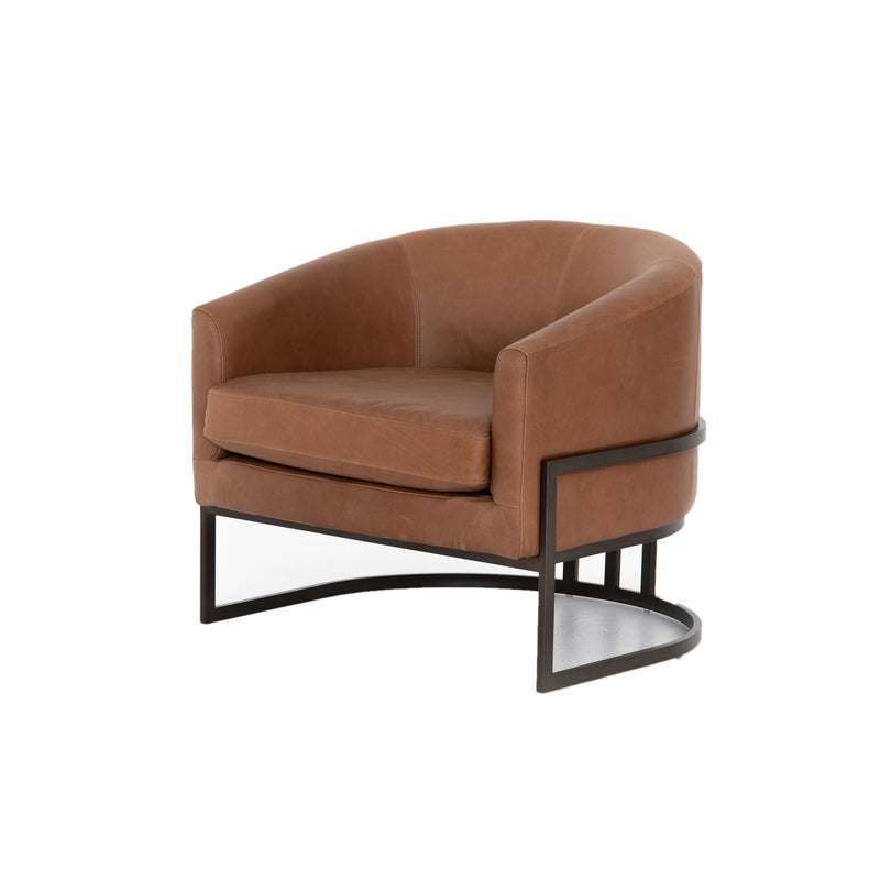 Ruthy Chair Dark Bronze, Chaps Sand