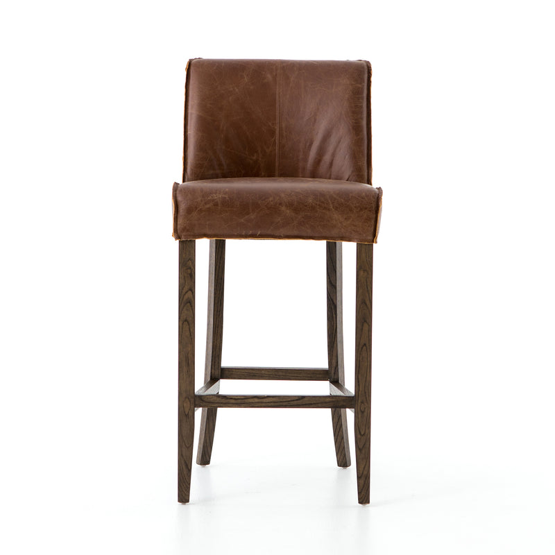 Angelina Counter stool Sienna Chestnut, Warm Nettlewood