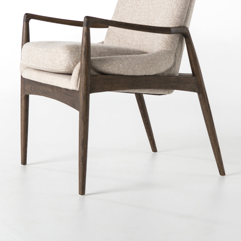 Sydney Dining Chair Light Camel, Warm Nettlewood