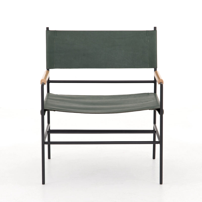 Gibbon chair Bleached Ash, Emerald Natural, Carbon Canvas, Distressed Black