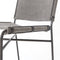 Nicolas Dining Chair Stonewash Grey, Waxed Black
