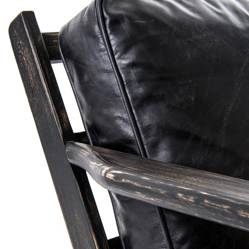 Monte Lounge Chair Ebony