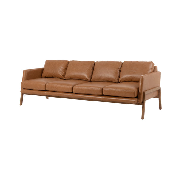 Christal Sofa Sonoma Butterscotch, Natural