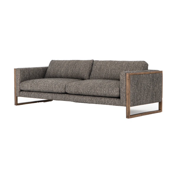 Allison Sofa Arden Charcoal, Distressed Natural