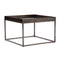 Eladio Bunching Table Bronze, Tempered Glass